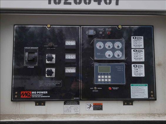 2014 Multiquip DCA125SSJU4I Diesel Generator