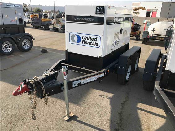 2018 Multiquip DCA40SSKU4F Diesel Generator