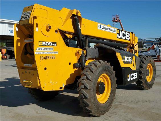 2015 JCB 509-42 S Reach Forklift