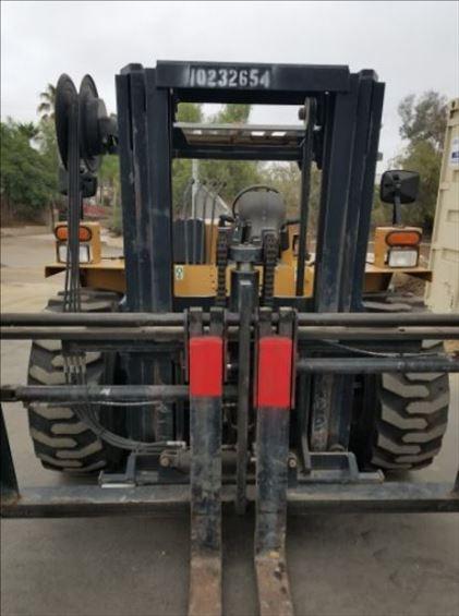 2014 NOBLE/CAT RC60LP Rough Terrain Forklift