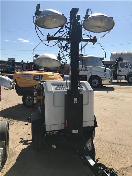 2017 Allmand NLPROII V Towable Light Tower