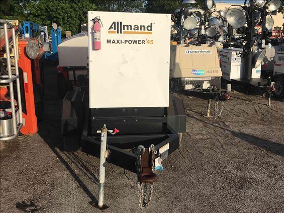 2017 Allmand MP45 Diesel Generator