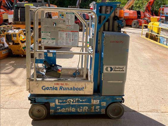 2012 Genie GR-15 Scissor Lift