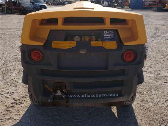 2014 Atlas Copco XAS185 Air Compressor