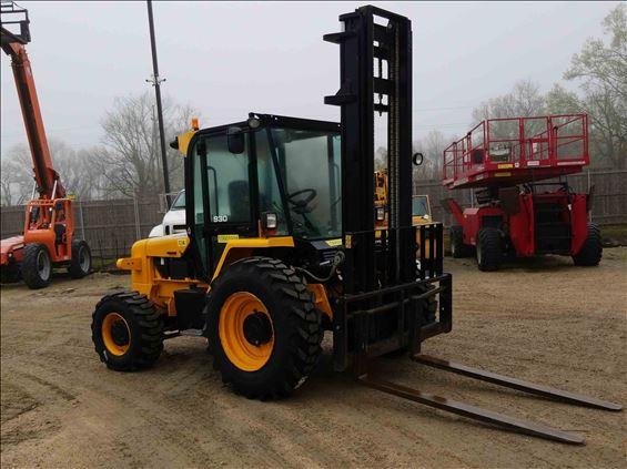 2017 JCB 930-4 Rough Terrain Forklift