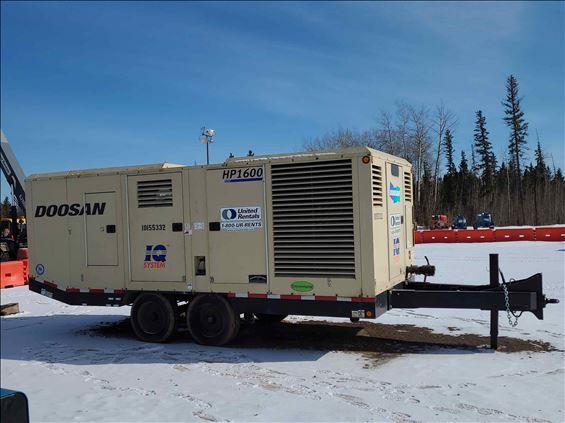 2013 Doosan HP1600WCU-IQ Air Compressor