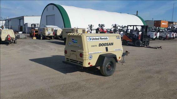 2013 Doosan P185WJD-T4I Air Compressor