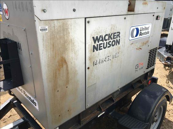 2013 Wacker Neuson G14 Portable Generator