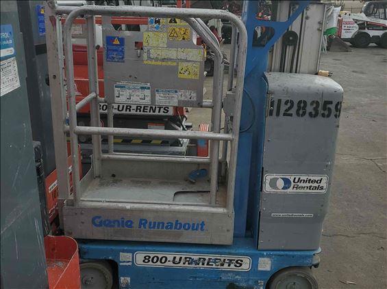 2010 Genie GR-12 Scissor Lift