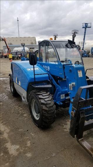 2015 Genie GTH-5519 Rough Terrain Forklift