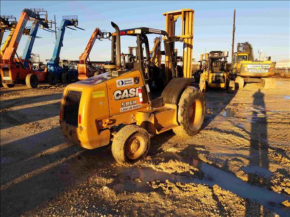 2014 Case 586H Rough Terrain Forklift