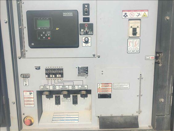 2014 Wacker Neuson G 120 Diesel Generator