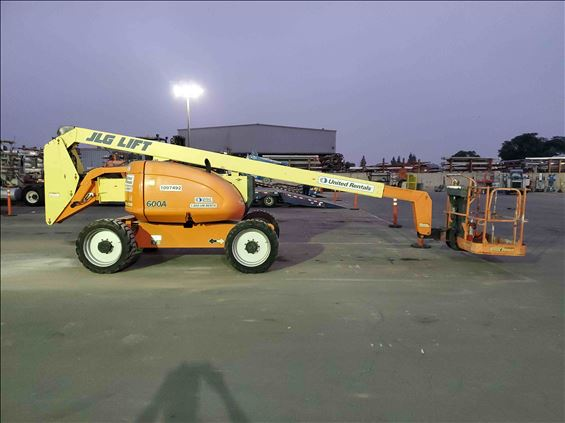 2007 JLG 600A Boom Lift