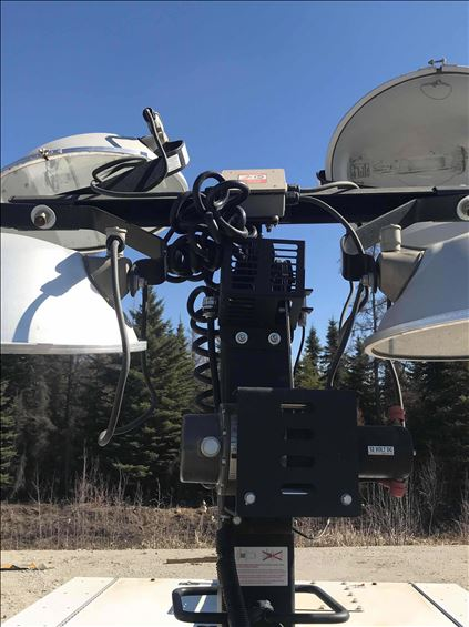 2019 Generac MLT5080KV Towable Light Tower