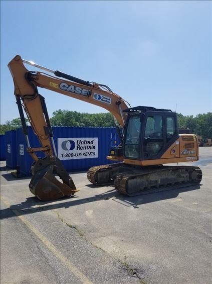 2014 Case CX130C Excavator