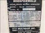 2016 Multiquip DLW400ESA4 Welder