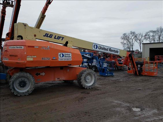 2012 JLG 860SJ Boom Lift