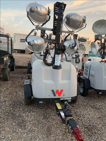 2018 Wacker Neuson LTV6L Towable Light Tower