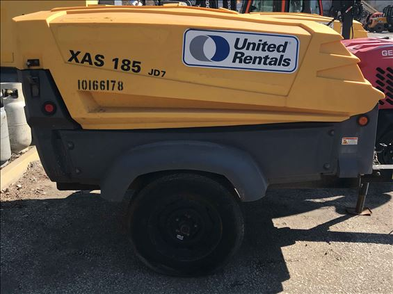 2013 Atlas Copco XAS185JD Air Compressor